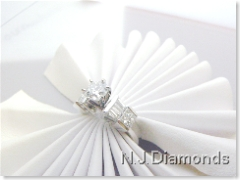 Diamond engagement ring N.J. Diamonds Dearborn, Michigan