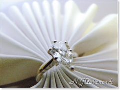 pear shape diamond engagement ring at N.J. Diamonds
