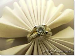 N.J. Diamonds Diamond engagement ring