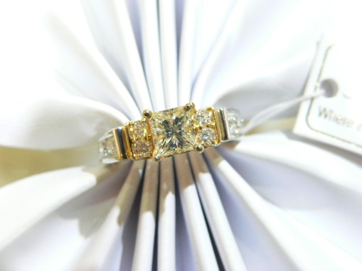 Payless for your engagement ring with N.J. Diamonds #njdia