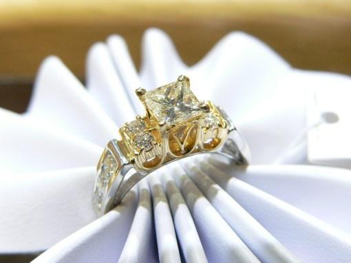 #platinum diamond engagement ring