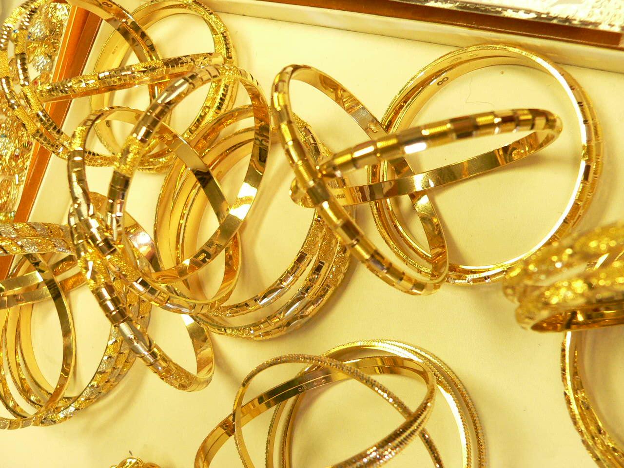 bangle bracelets 21 karat