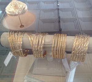 21kt gold bangles