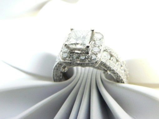 Hundreds of diamond engagement rings @njdiamonds #njdia