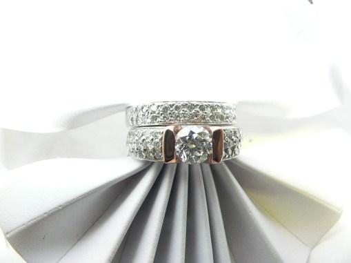 custom made engagement ring set michigan