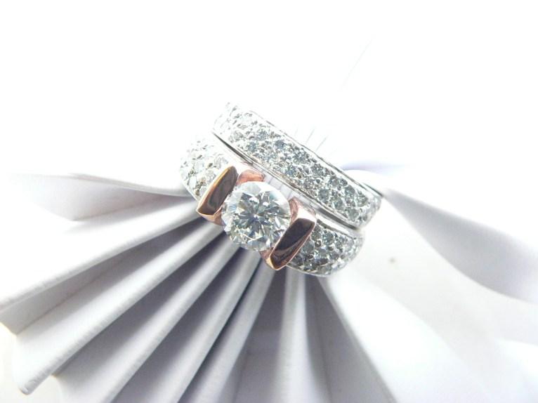 Michigan custom order #diamondengagementrings