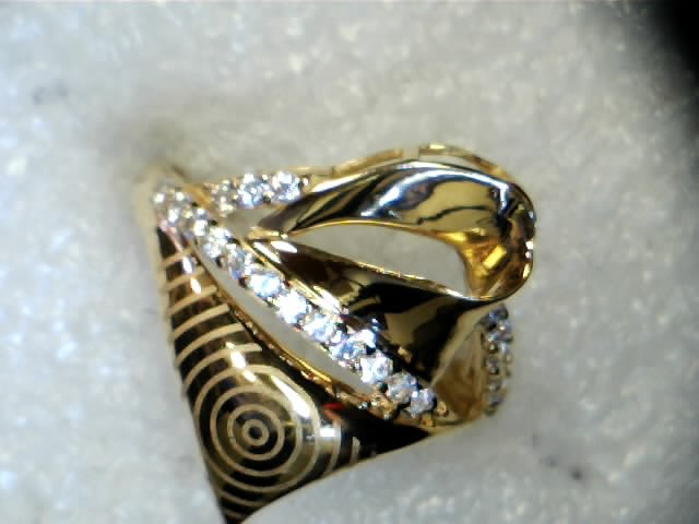 21 Karat Ring with CZ