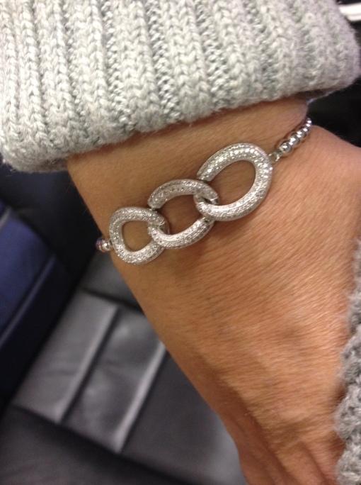 Sliver bracelets @njdiamonds