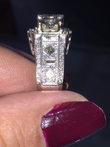 Custom Design Diamond Engagement Ring Dearborn,Michigan