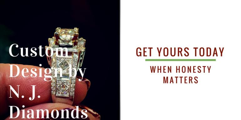 custom design diamond engagement rings