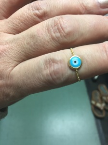 string rings at N.J. Diamonds
