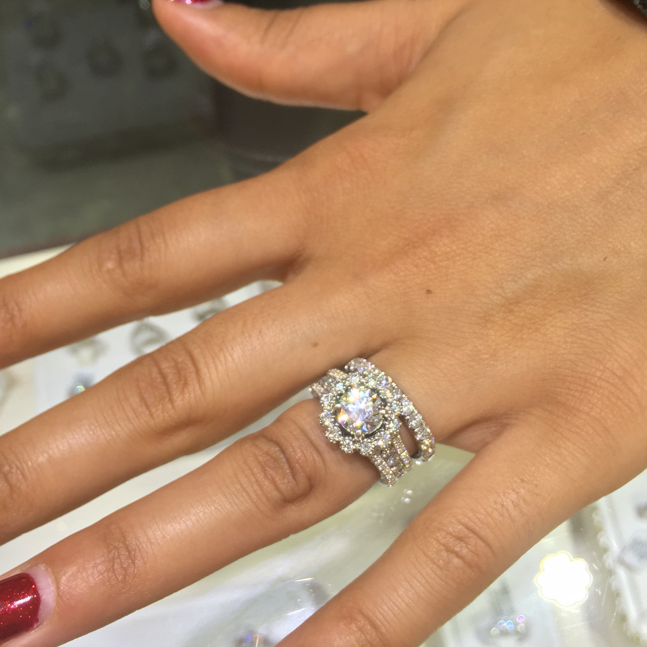 Diamond engagement ring custom design Dearborn