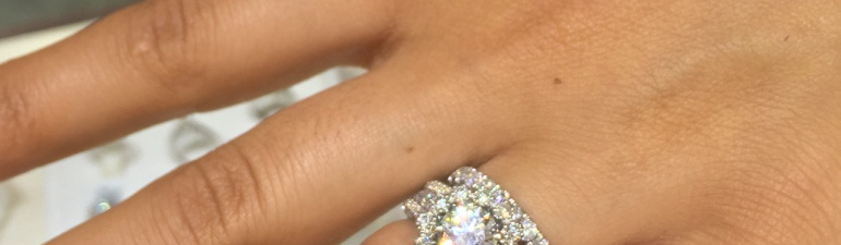 Diamond engagement ring custom design Dearborn