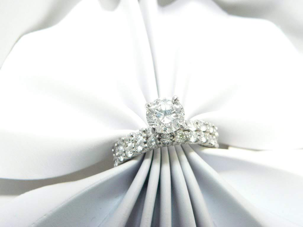 Diamond Engagement Ring With Band